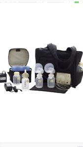 Medela double electric breast pump for sale.