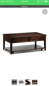Coffee Table with Lift Top