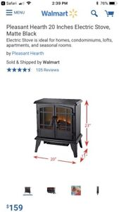 """20"""" Electric Fireplace"""