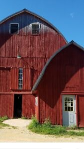 Looking to rent a farm or barn