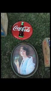 Coke button and platter