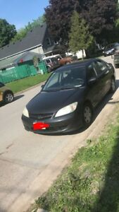 Black Honda Civic