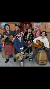 Looking for a pirate music band