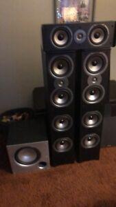 Polk audio home theatre speakers
