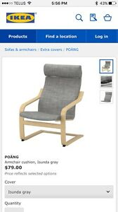 Poang Armchair Cushion - gray