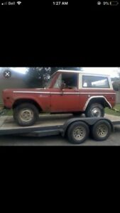Wanted: 1966-77 Ford Bronco of any condition