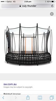 VULY THUNDER LARGE TRAMPOLINE Shellharbour Shellharbour Area Preview