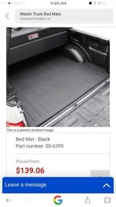 Truck bed mat/bed liner  Chevy/Ford/ram/dodge/ quad cab look----