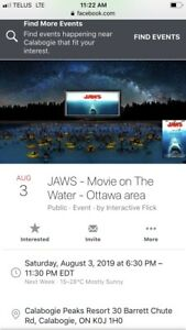 Two Tickets to Jaws:In Calabogie