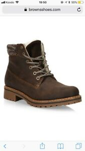 Leather Arctic Winter Boots (brand new)