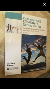 BSN yr 3 communicating effectively textbook