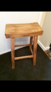 Two Rustic bar stools