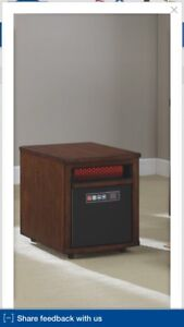 Duraflame space heater for 1,000 square feet