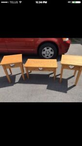 Little Solid Wood Tables