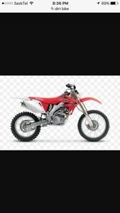 Looking for a 150cc dirtbike