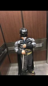 Batman costume with cape