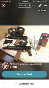 airsoft FULL set NEED GONE ASAP