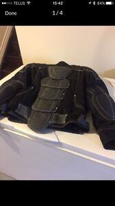 LADIES MOTORCYCLE JACKET WITH ARMOUR
