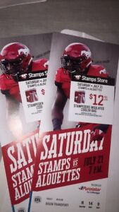 Calgary Stampeders tickets for July 21
