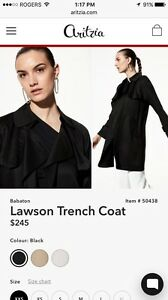 ARITZIA:  Babaton Lawson Trench Coat