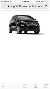 2018 FORD ECOSPORT PAYMENT TAKEOVER