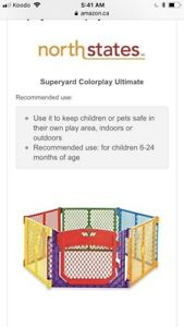 Superyard Colorplay Ultimate + 2 panel extension
