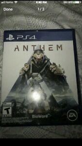 Anthem PS4 game $50
