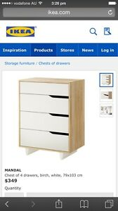 Mandal chest of drawers wanted Midland Swan Area Preview