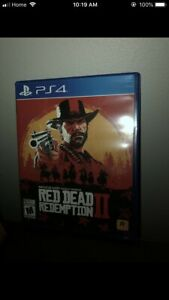 Red dead redemption 2 ps4 $45