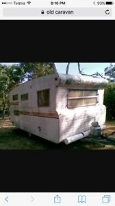 Wanted Old Caravan Sassafras Latrobe Area Preview