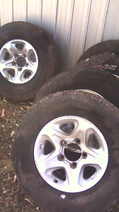 Toyota Land Cruiser 4x4 mags wheels Dublin Mallala Area Preview