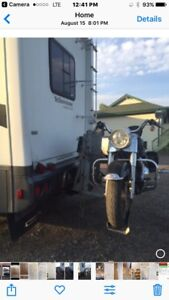 Motorcycle lift for RV s