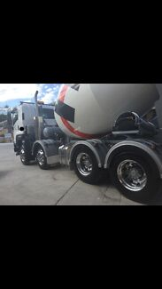 Concrete truck and 10 year contract