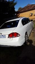 Selling my Honda Civic 2006 it is very clean I am the second owner Sunshine West Brimbank Area Preview