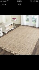 Large 10sqft SAFAVIEH handwoven rug • carpet