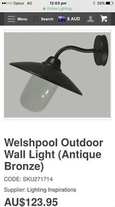Brand new in box welshpool outdoor light RRP $123 Manly Brisbane South East Preview