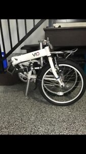 Vio folding travel bikes for sale 600 for both