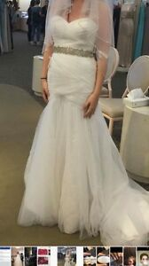 Size 4 Mermaid Style Wedding Gown
