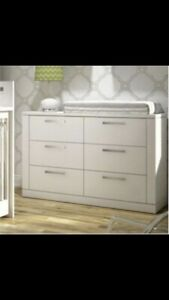 Natart Nest Juvenile Double Dresser ( Elephant Grey two tone)