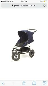 Mountain Buggy Urban Jungle Stroller with extras