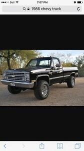 Looking for a Chev/Gmc squared body truck