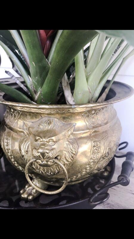 Antique 19th Century Brass Bowl European