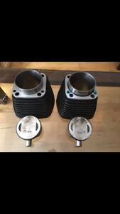 Tête de moteur et pistons Harley D flhx 2008