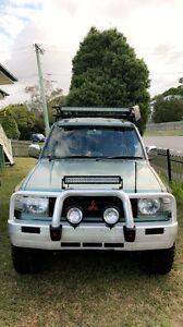Mitsubishi pajero 4x4 manual Mount Gravatt East Brisbane South East Preview