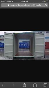 sea container doors both ends Albany Albany Area Preview