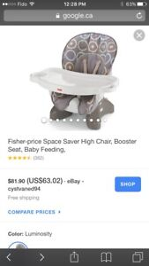 Booster Fisher Price