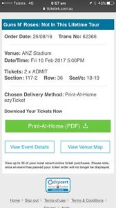Guns n Roses Tickets Wauchope Port Macquarie City Preview