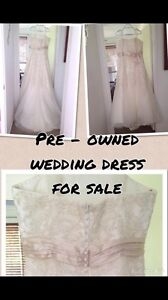 Pre - owned and worn, wedding dress! Highland Park Gold Coast City Preview