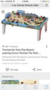 Thomas the tank wooden table