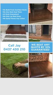 Decking builders affordable